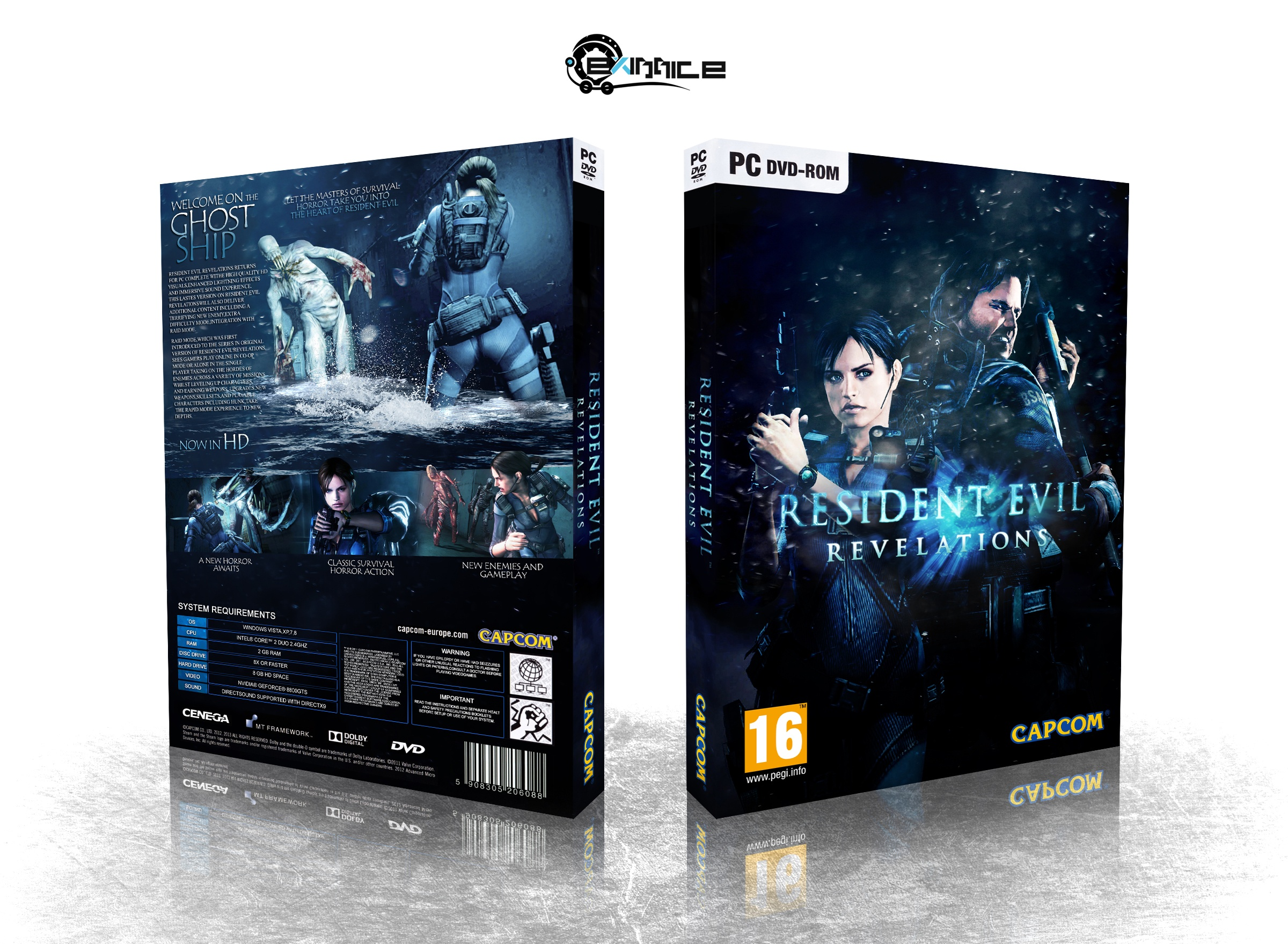 Resident Evil : Revelations box cover