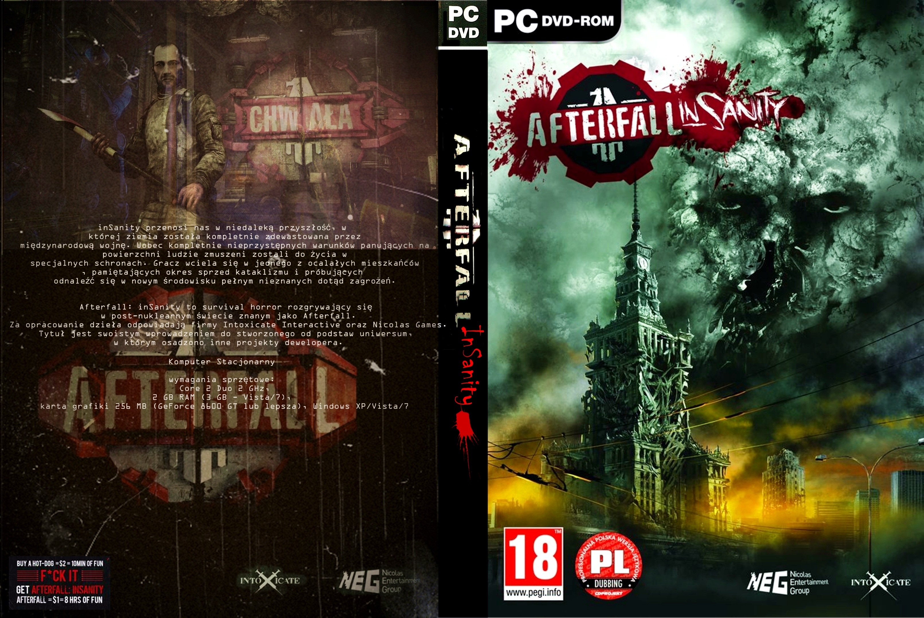Afterfall: Insanity PL box cover