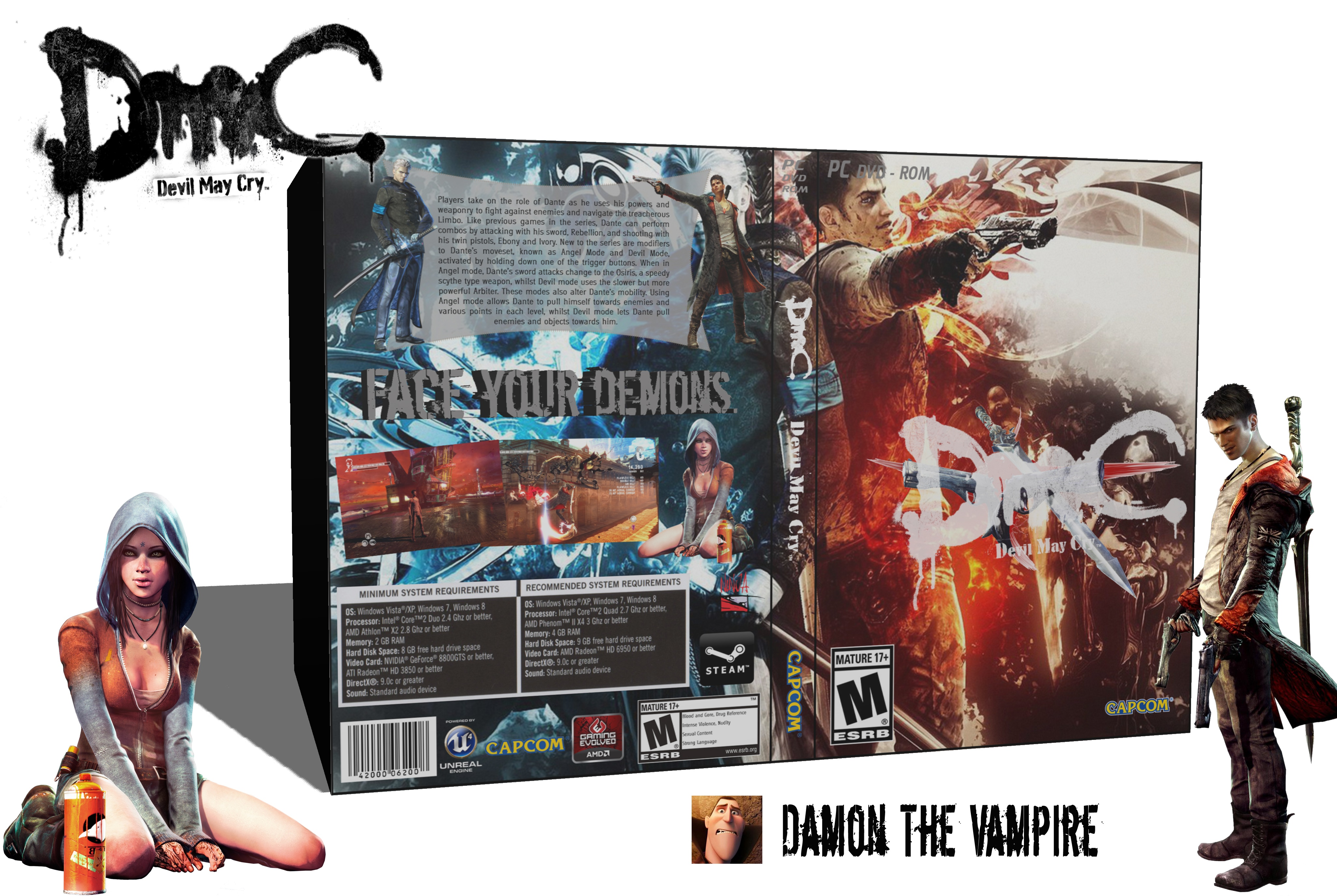 DmC Devil May Cry box cover