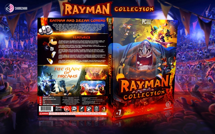 Rayman Collection box art cover