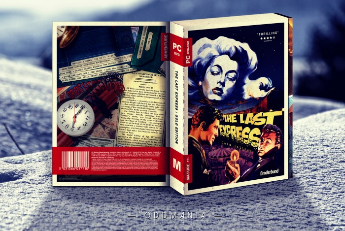 The Last Express : Gold Edition box art cover