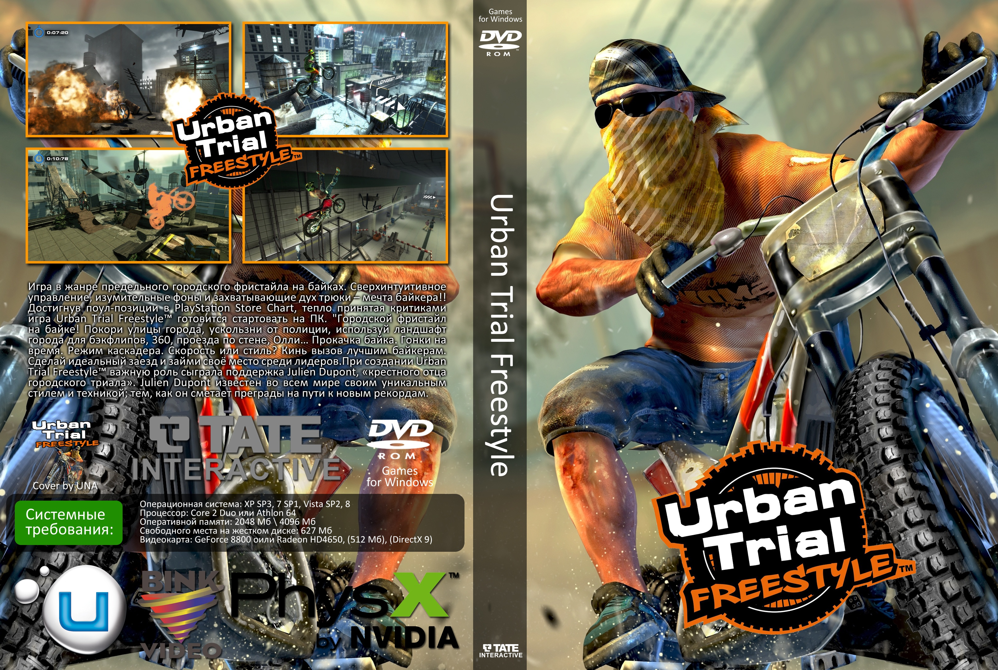 Urban Trial Freestyle box cover