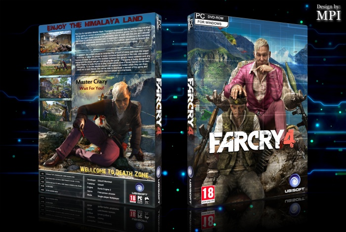 Far Cry 4 box art cover