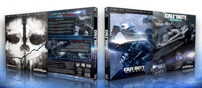 Call of Duty Ghosts Limited Collector's Edition box art cover