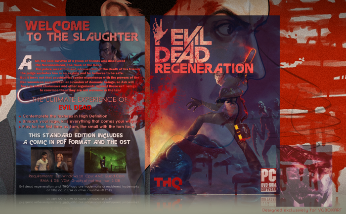 Evil Dead: Regeneration box art cover