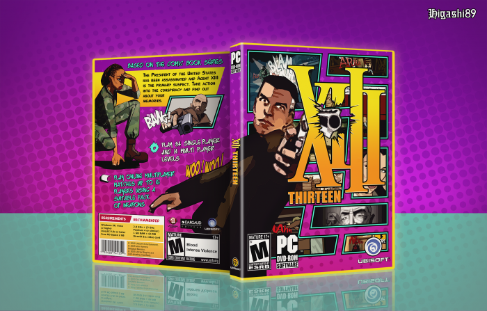 XIII box art cover