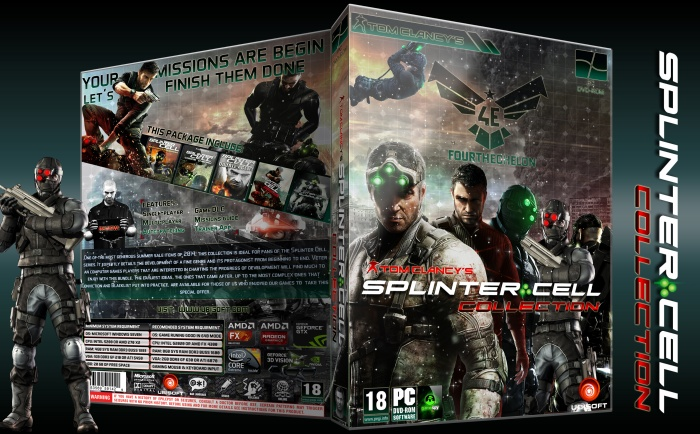 Tom Clancy's Splinter Cell: COLLECTION box art cover
