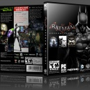 Batman: Arkham Trilogy Box Art Cover
