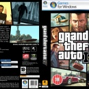 GTA IV: PC game of the year edition Box Art Cover