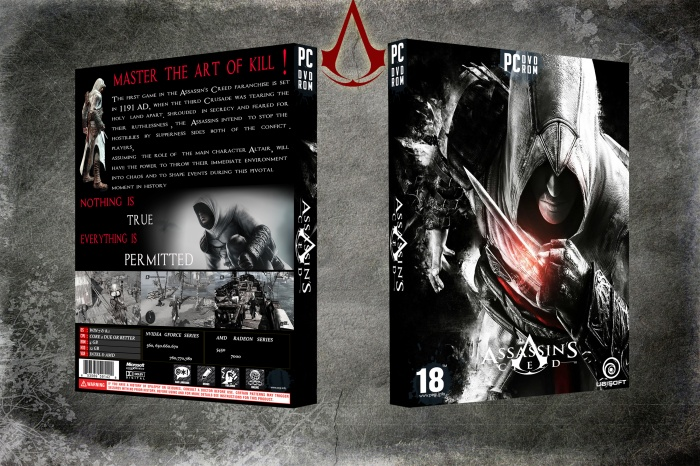 Assassian's Creed box art cover
