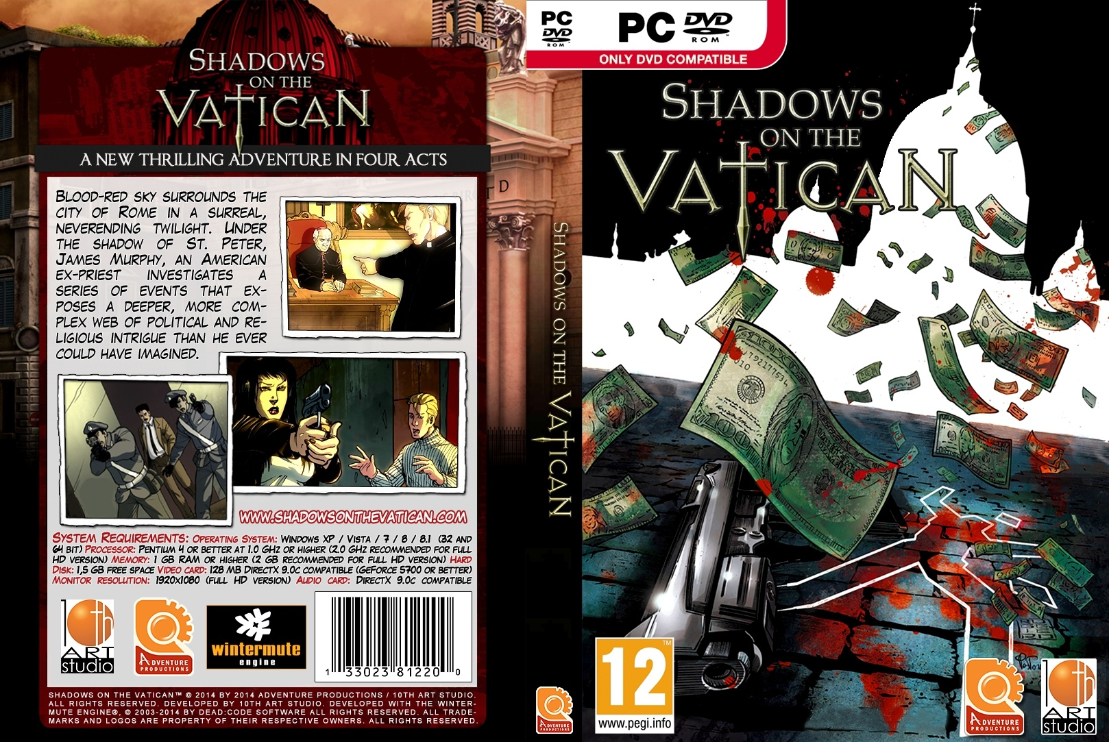 Shadows on the Vatican box cover