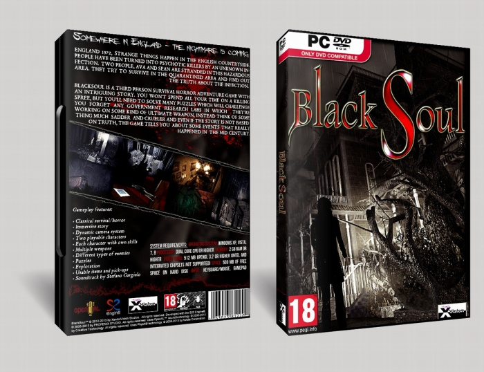 Black Soul box art cover