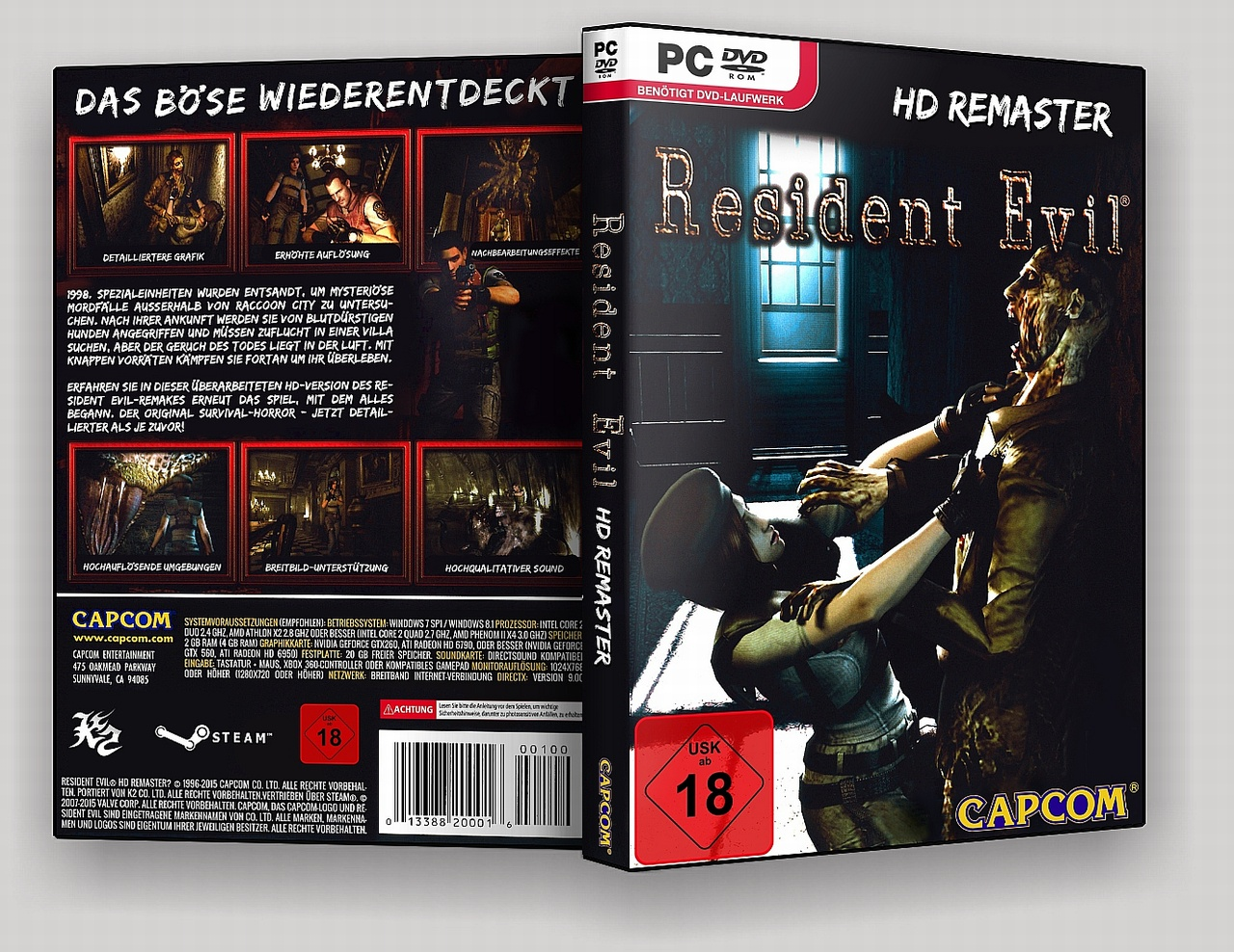 Resident Evil - HD Remaster box cover