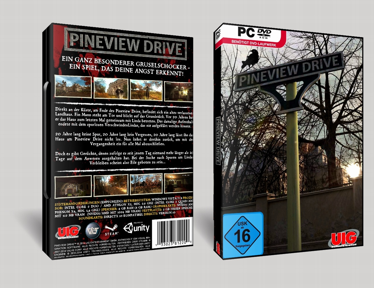 Pineview Drive box cover
