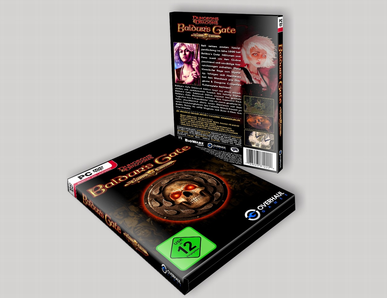 Baldur's Gate  Enhanced Edition box cover