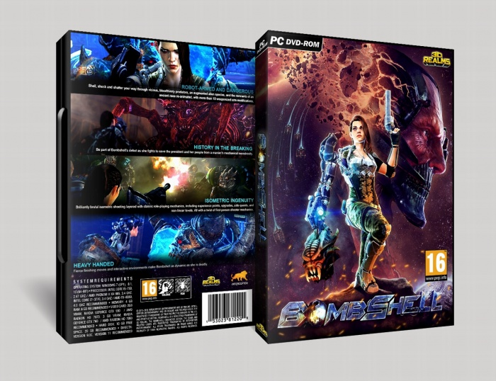 Bombshell box art cover