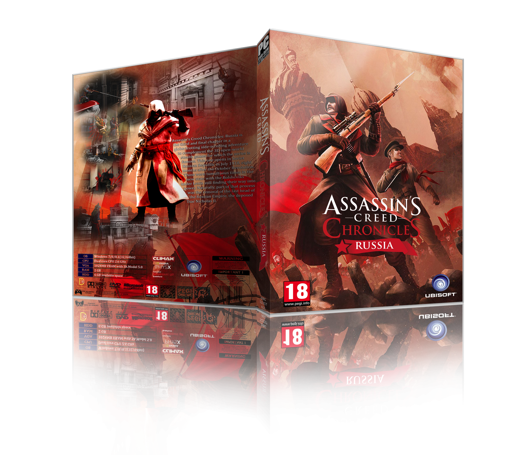 Assassin's Creed Chronicles Russia box cover