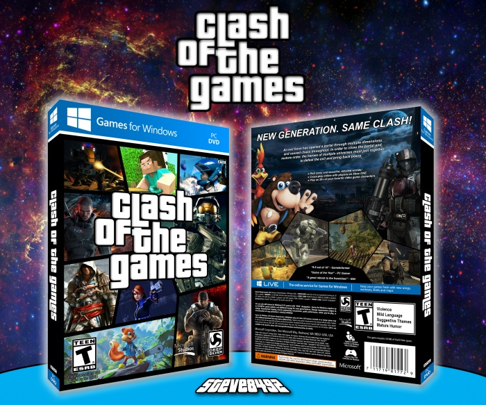 Clash Of The Games box art cover