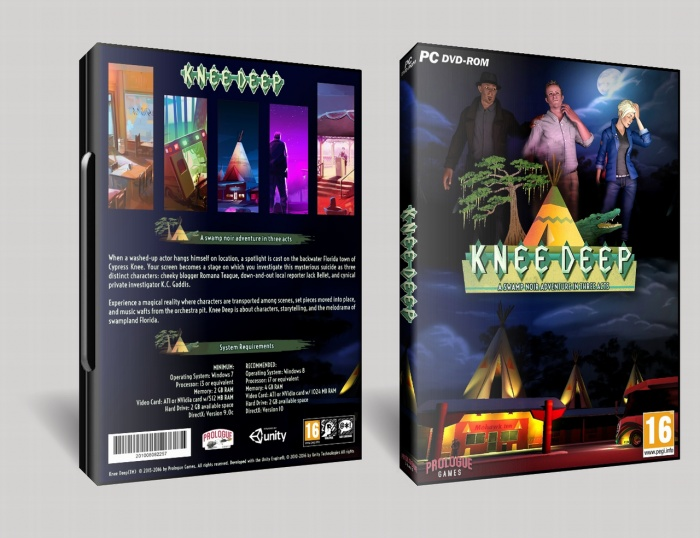 Knee Deep box art cover