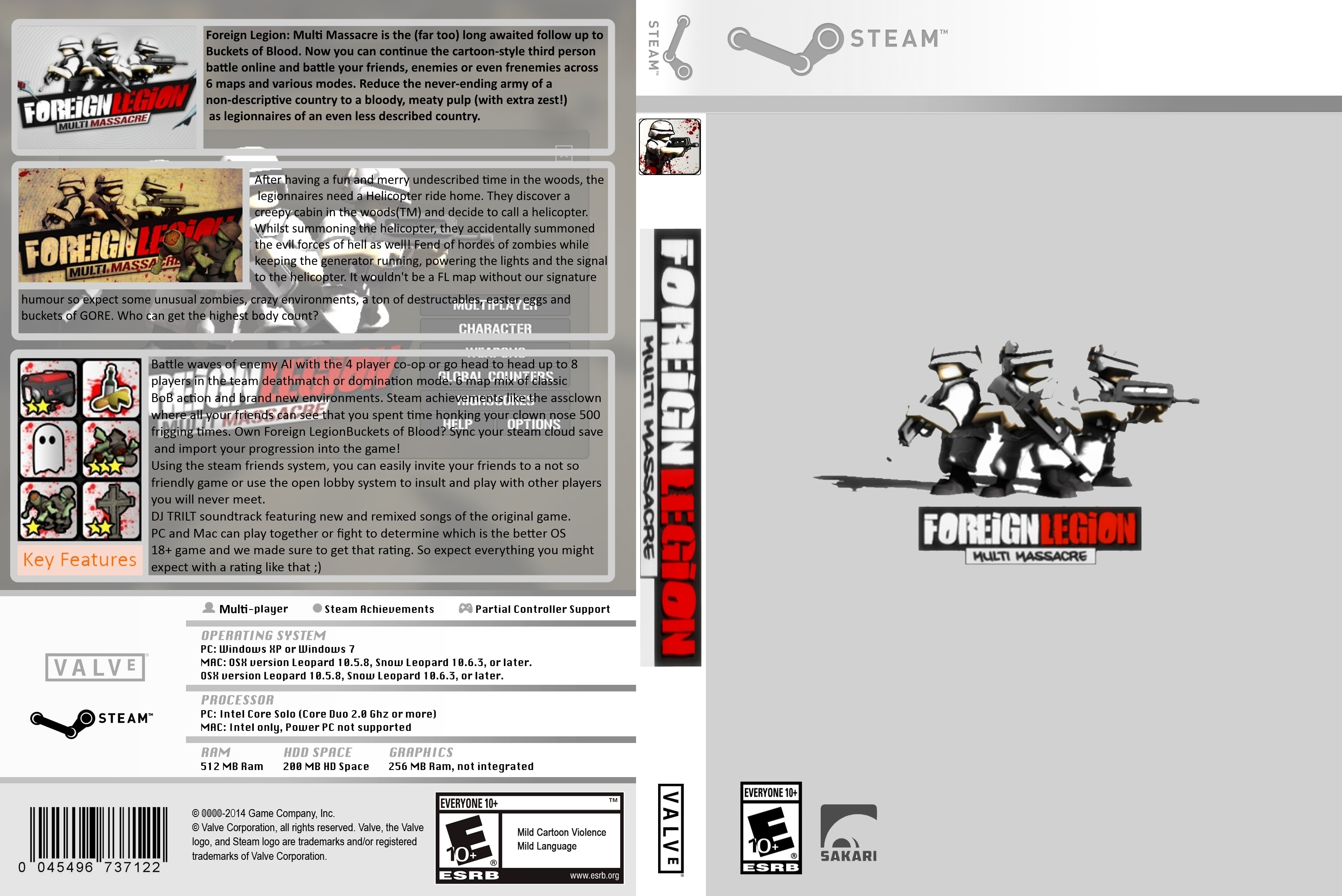foreign legion multi massacre box cover
