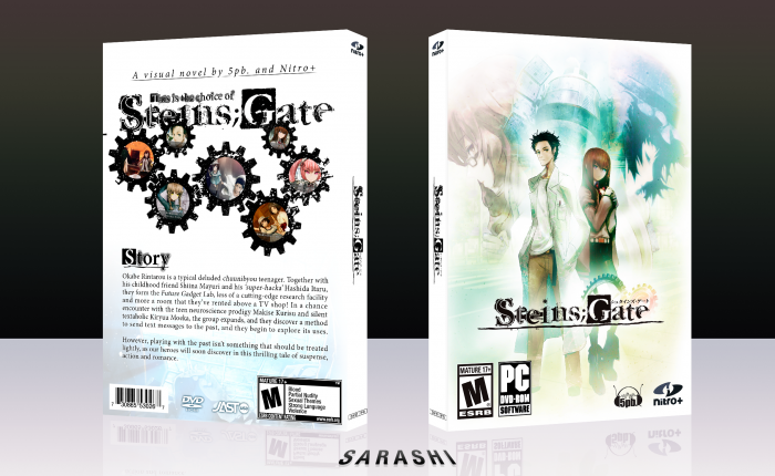 Steins;Gate box art cover