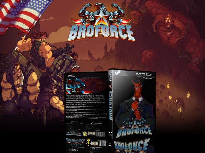 BroForce box art cover