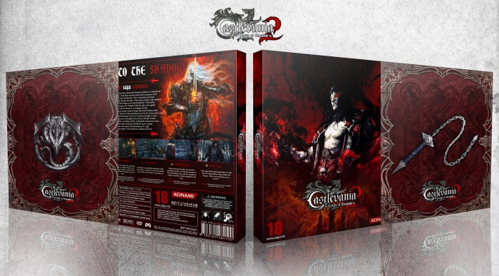 Castlevania : Lords of Shadow 2 box art cover