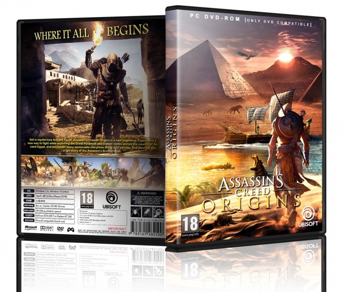 Assassins Creed Origins box art cover