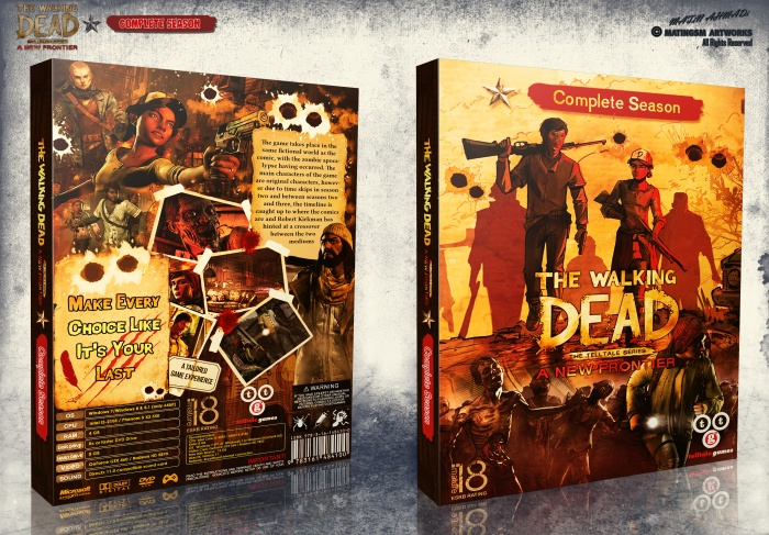 The Walking Dead A New Frontier Complete box art cover