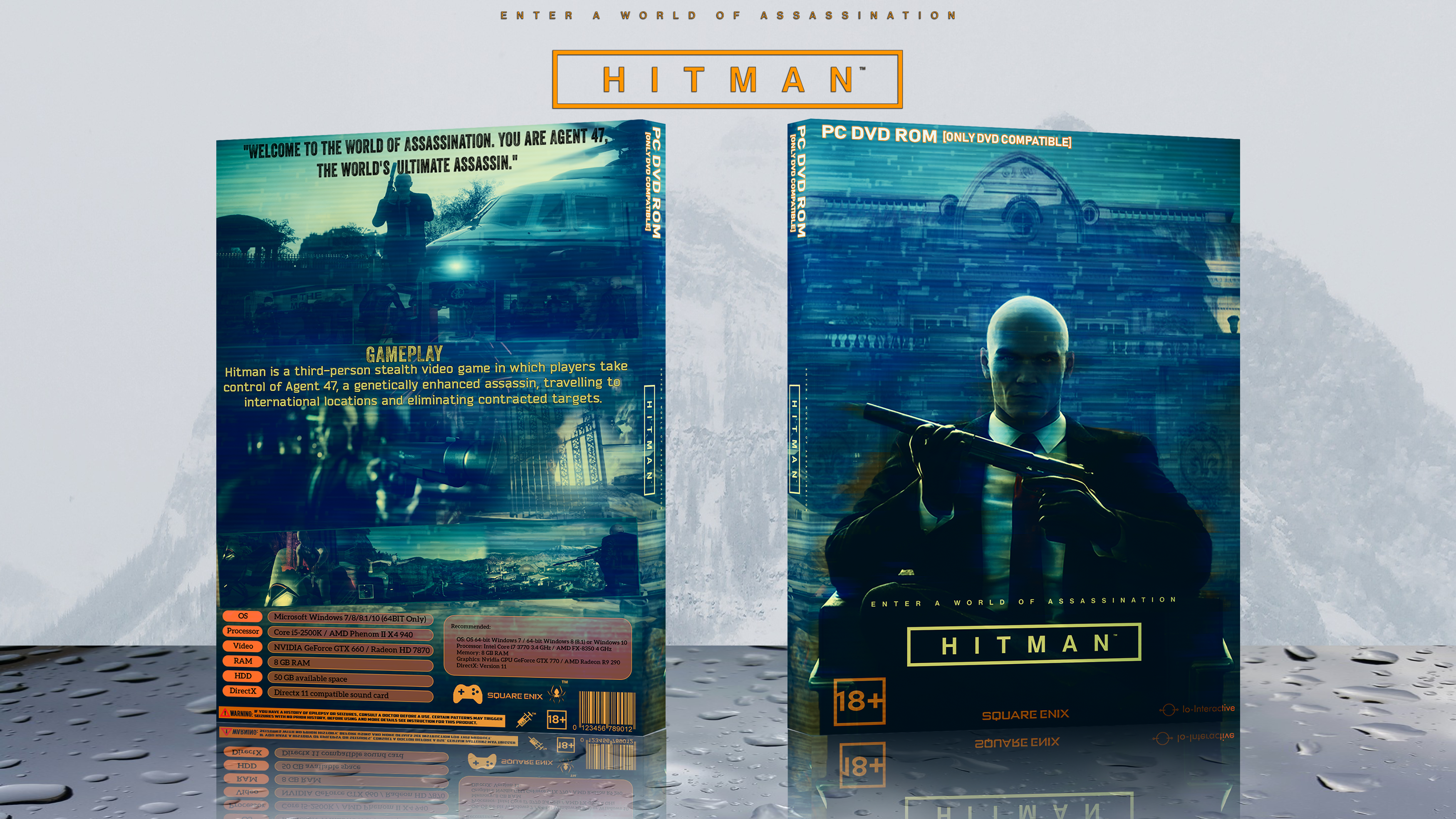 Hitman box cover