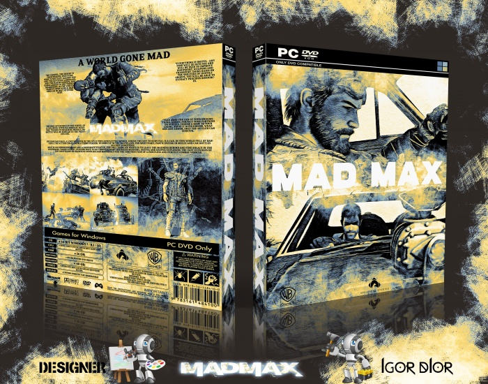 Mad Max box art cover