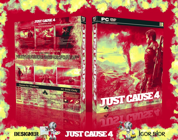 Just Cause 4 box art cover