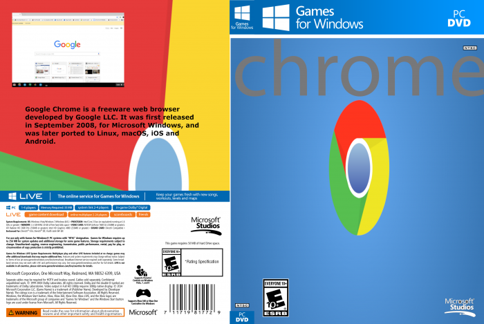 Chrome Broswer box art cover