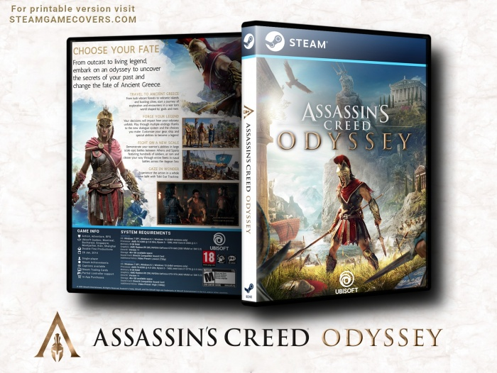 Assassin's Creed Odyssey box art cover
