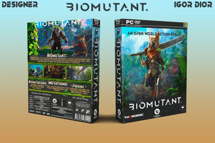 Biomutant box art cover