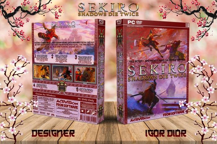Sekiro: Shadows Die Twice box art cover