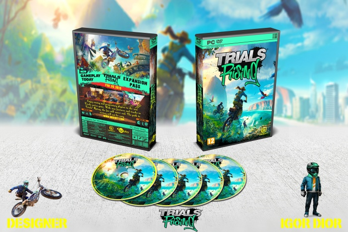 Trials Rising box art cover