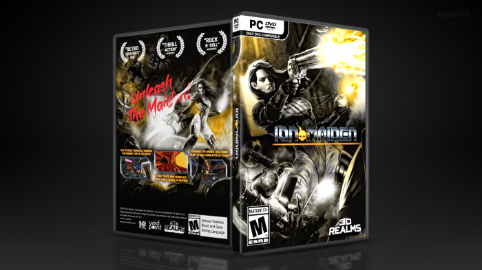 Ion Fury / Ion Maiden box art cover