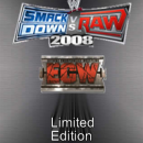 WWE SmackDown vs. Raw 2008 Limited Edition Box Art Cover