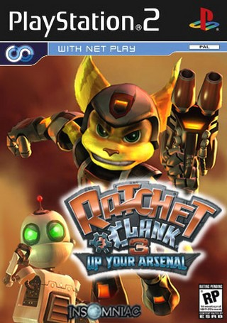 Ratchet And Clank 3 Up Your Arsenal Playstation 2 Box Art Cover By Mejstrup