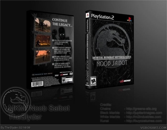 Mortal Kombat Mythologies: Noob Saibot box art cover