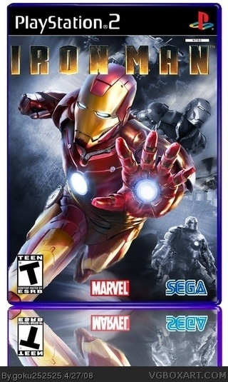 Iron Man box cover