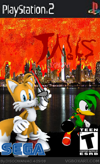 Tails Skorn! box cover