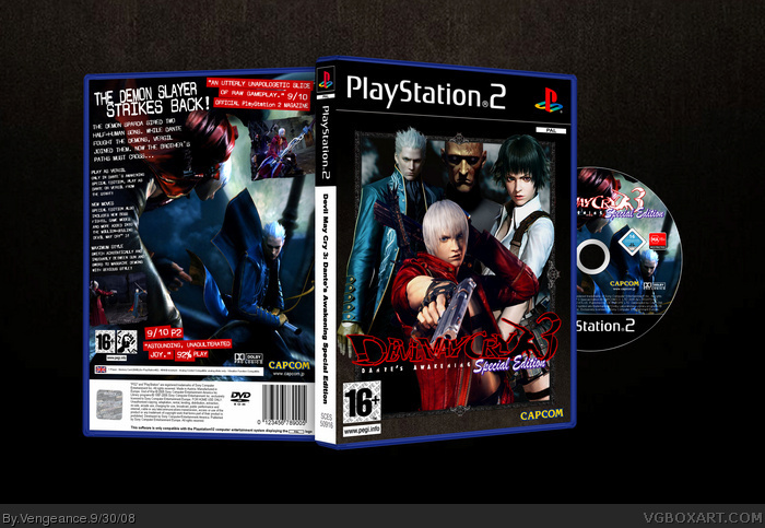 Devil May Cry 3 Special Edition box art cover