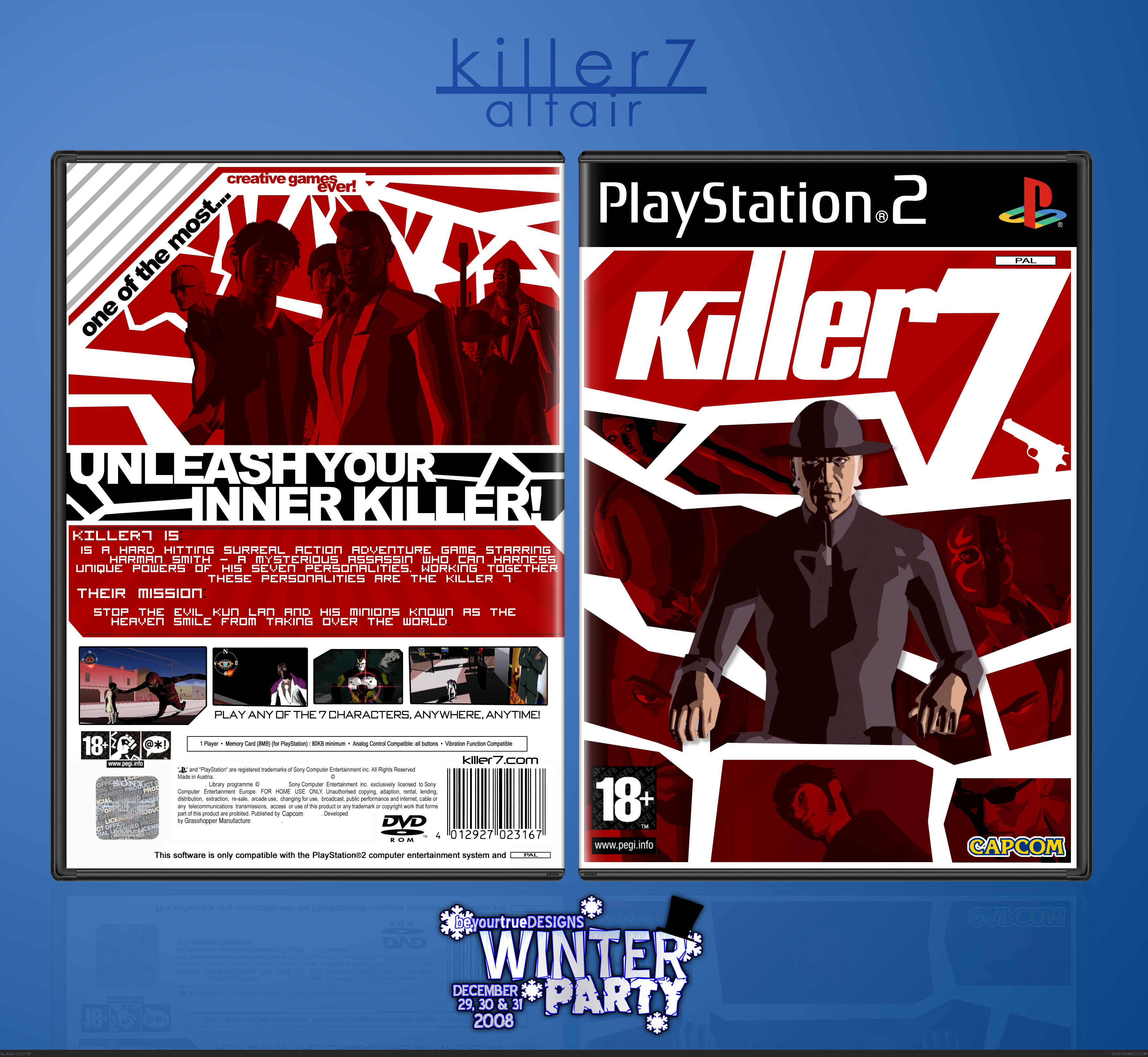 Killer7 box cover