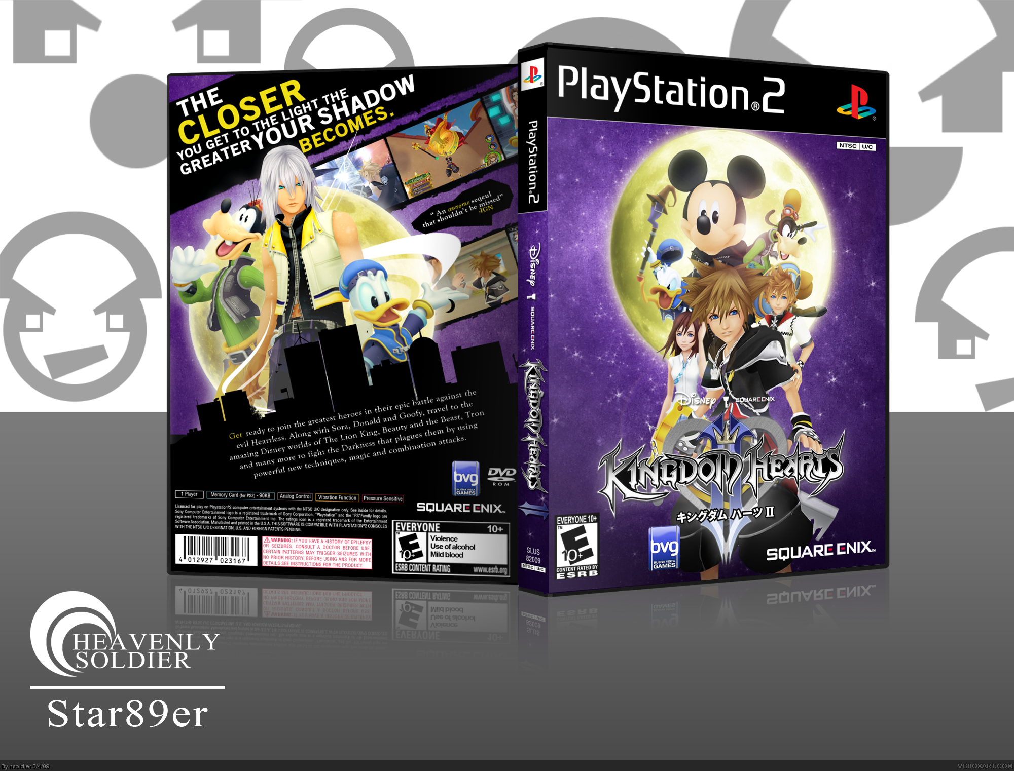 Kingdom Hearts 2 box cover