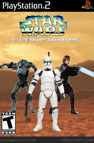 Star Wars: The Clone Wars box cover