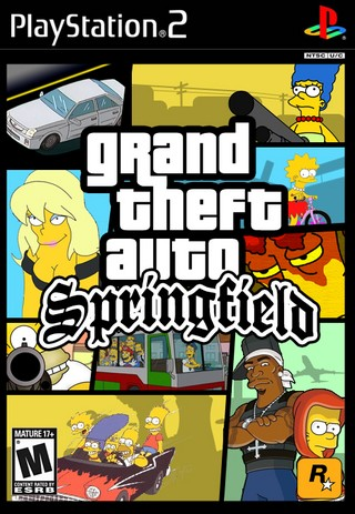 Grand Theft Auto: Springfield box cover