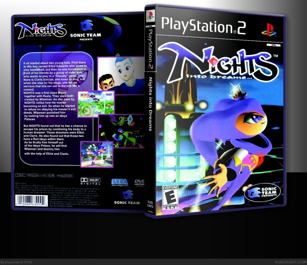 NiGHTS Journey Into Dreams (Special Edition) box cover