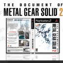 The Document of Metal Gear Solid 2 Box Art Cover